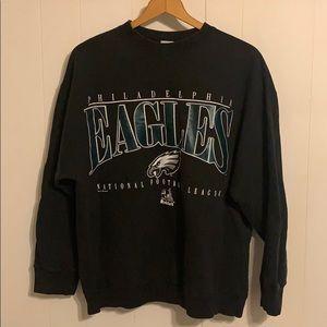 Vintage Philadelphia Eagles Crewneck Sweatshirt